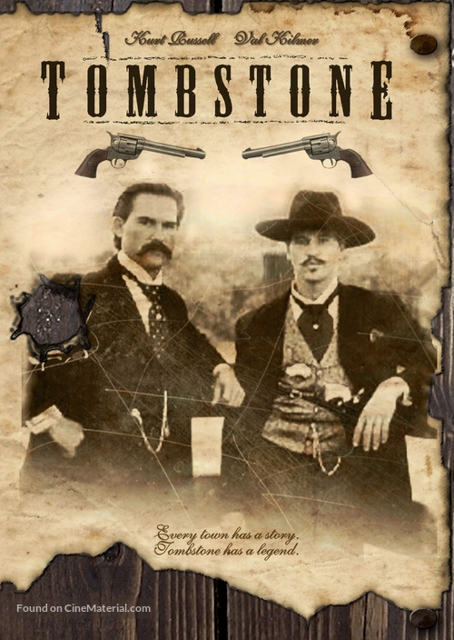 Tombstone - DVD movie cover