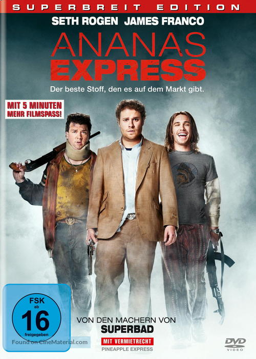 Pineapple Express - German Movie Cover