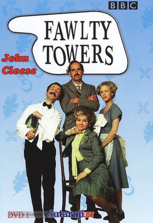 """""""Fawlty Towers"""" - DVD movie cover"""