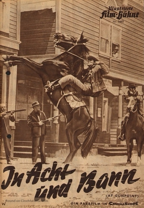 At Gunpoint - German poster