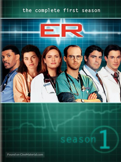 """""""ER"""" - DVD movie cover"""