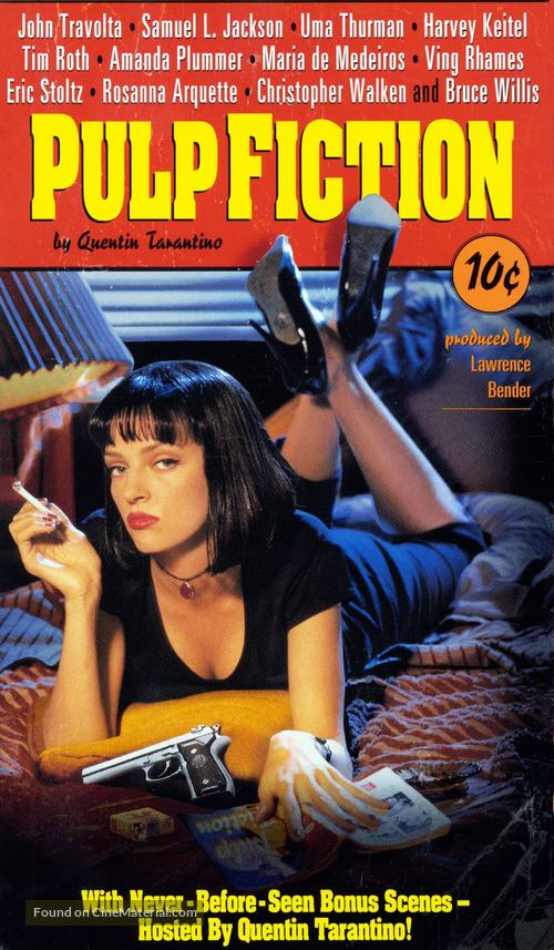 Pulp Fiction - VHS movie cover