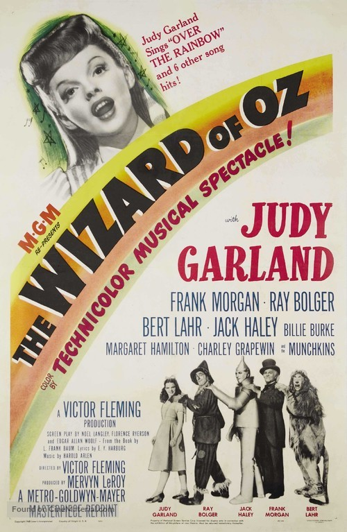 The Wizard of Oz - Movie Poster