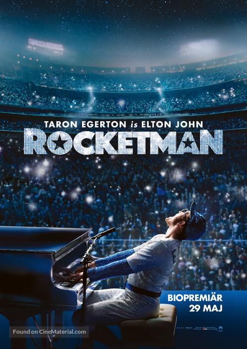 Rocketman - Swedish Movie Poster