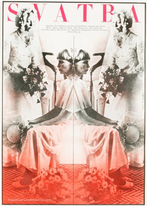 A Wedding - Czech Movie Poster