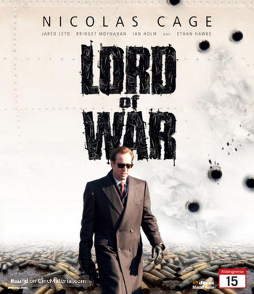 lord of war finnish movie cover