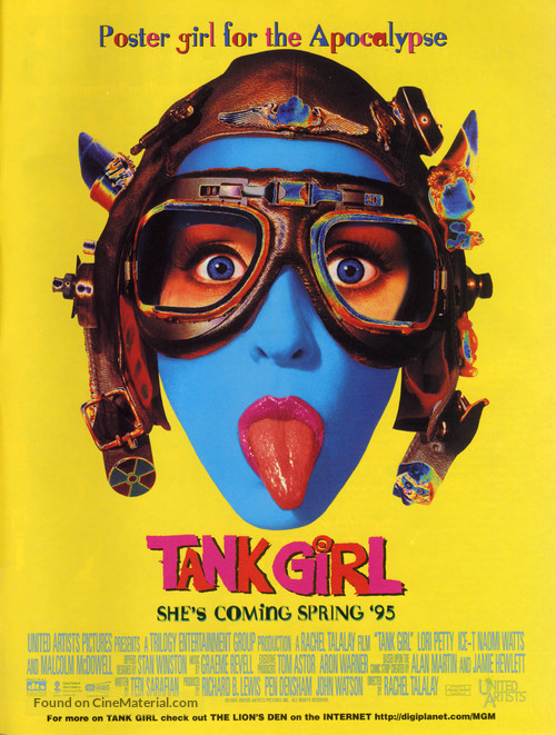 Tank Girl - Movie Poster