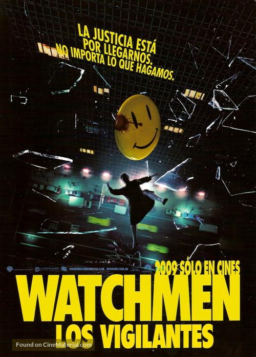 Watchmen - Argentinian Movie Poster