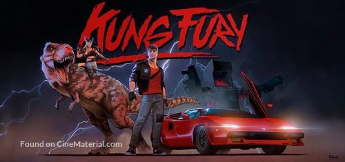 Kung Fury - Swedish poster