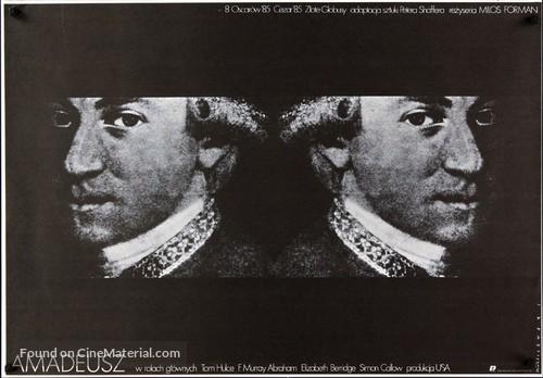 Amadeus - Polish Movie Poster