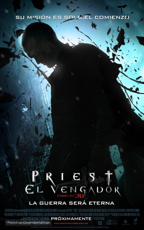 Priest - Argentinian Movie Poster