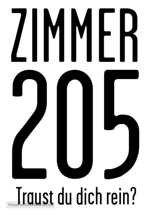 205 - Zimmer der Angst - German Logo