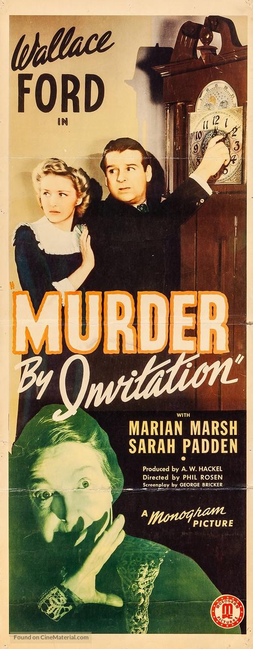 Murder by Invitation - Movie Poster