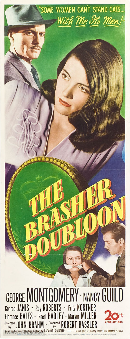 The Brasher Doubloon - Movie Poster