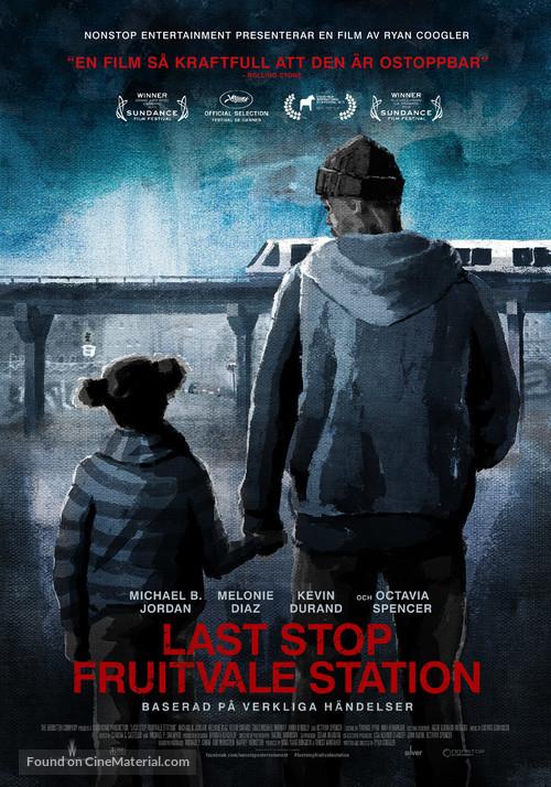 Fruitvale Station - Swedish Movie Poster