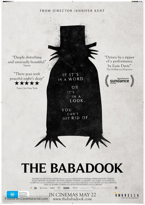 The Babadook - Australian Movie Poster
