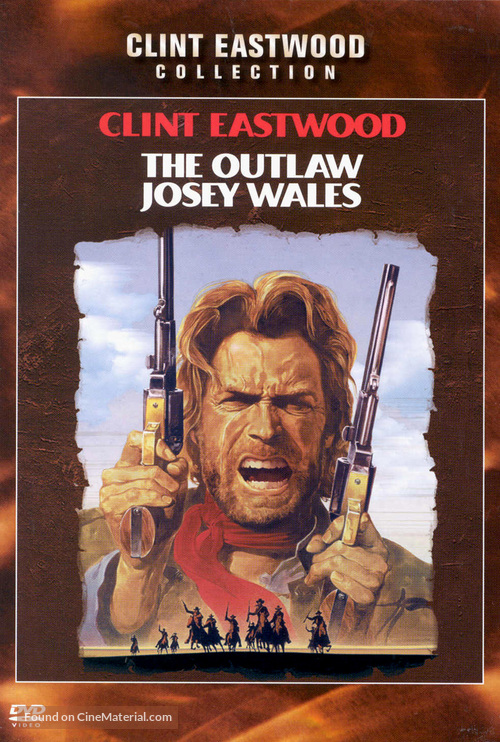The Outlaw Josey Wales - DVD movie cover