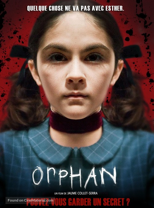 Orphan - French Movie Poster
