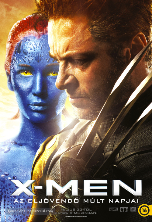 X-Men: Days of Future Past - Hungarian Movie Poster