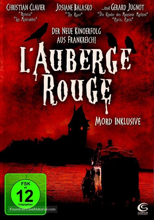 Auberge rouge, L' - German Movie Cover