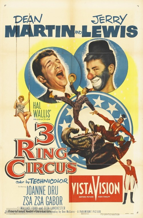 3 Ring Circus - Movie Poster