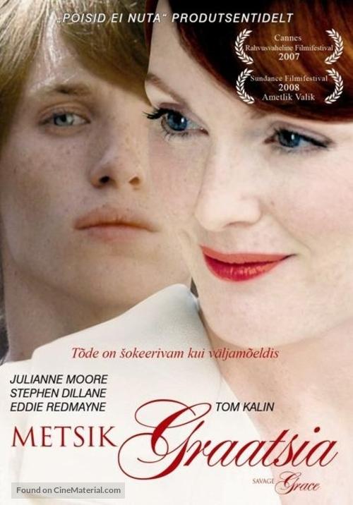 Savage Grace - Estonian Movie Poster
