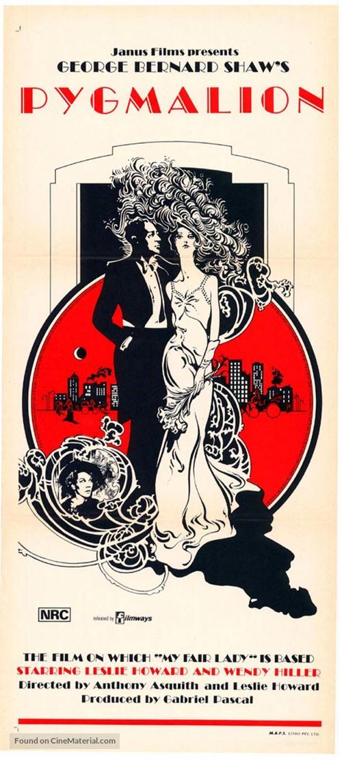Pygmalion - Re-release movie poster
