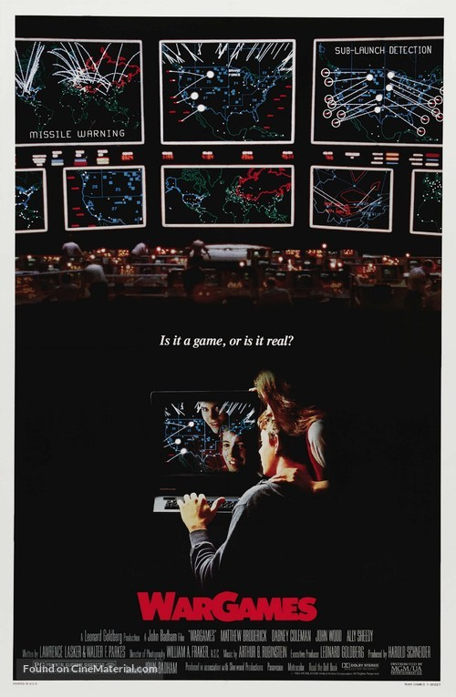 WarGames - Movie Poster