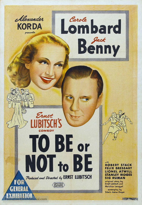 To Be or Not to Be - Australian Movie Poster
