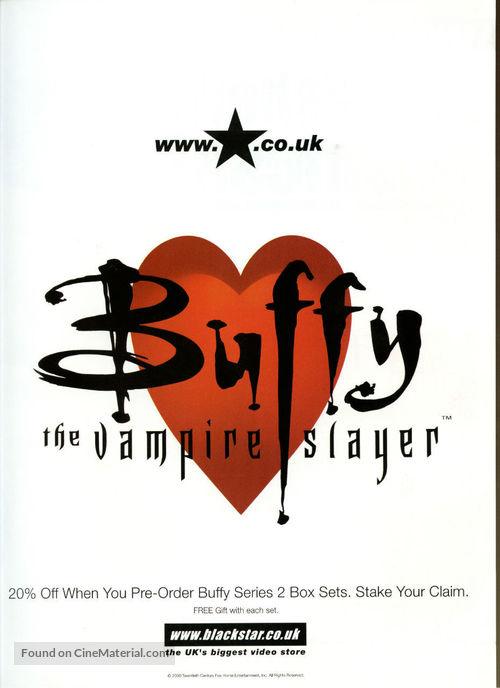 """""""Buffy the Vampire Slayer"""" - British Movie Poster"""