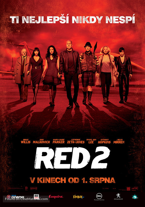 RED 2 - Czech Movie Poster