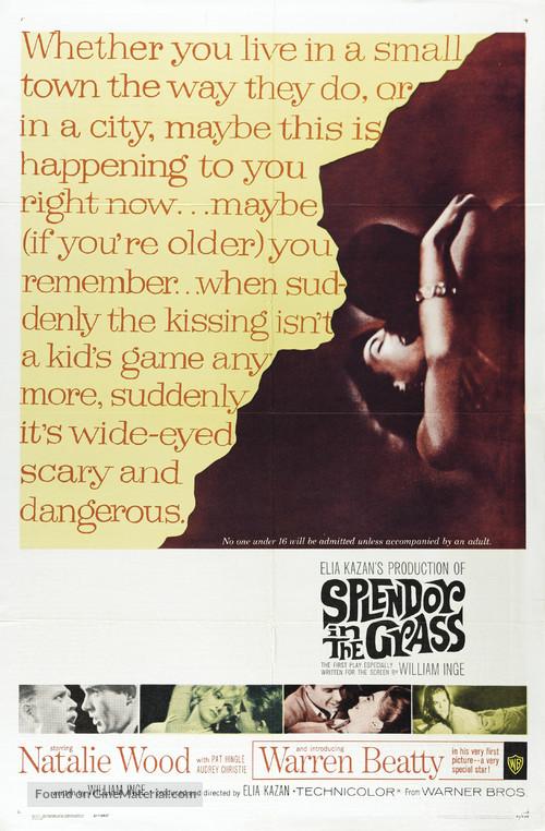 Splendor in the Grass - Movie Poster