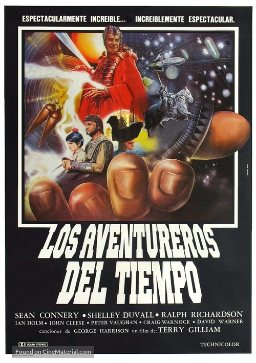 Time Bandits - Argentinian Movie Poster