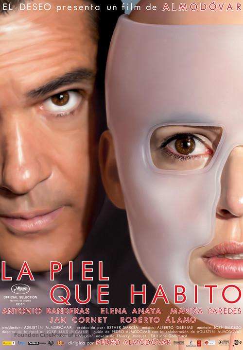 La piel que habito - Spanish Movie Poster