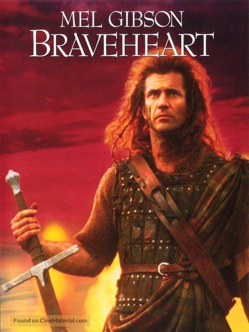 Braveheart - DVD movie cover