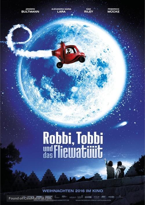 Robbi, Tobbi und das Fliewatüüt - German Movie Poster