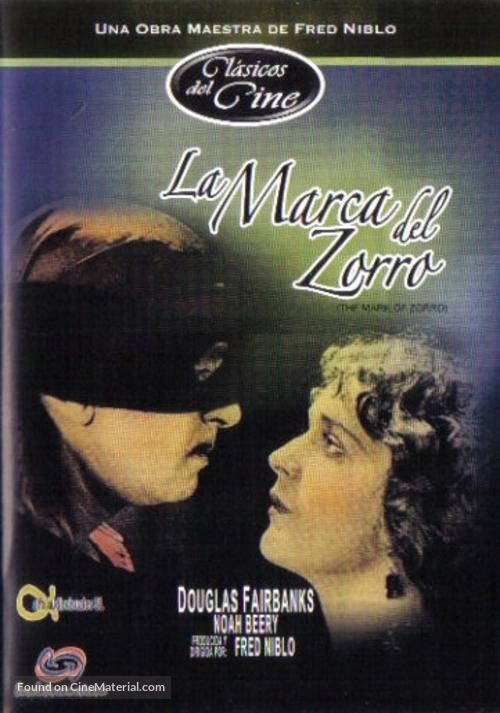 The Mark of Zorro - Mexican Movie Cover