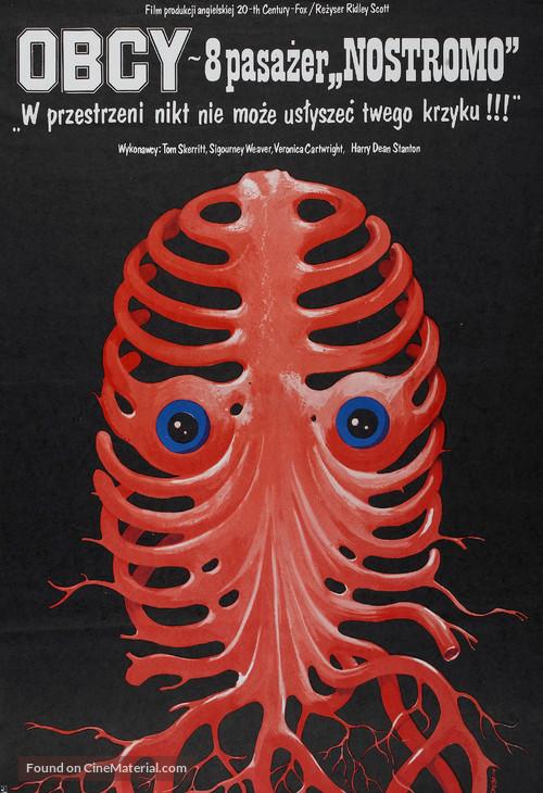 Alien - Polish Movie Poster