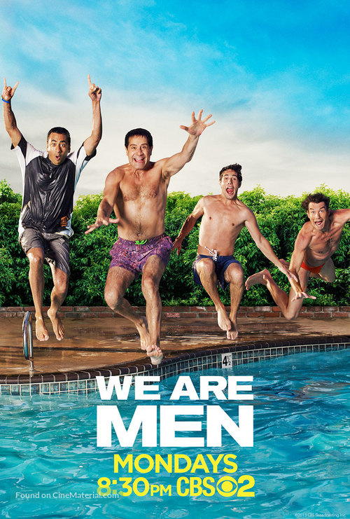 """""""We Are Men"""" - Movie Poster"""