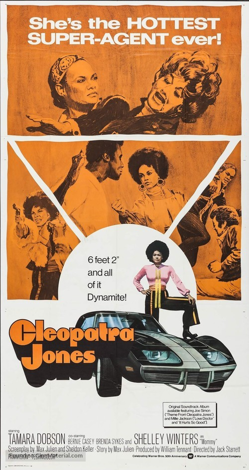 Cleopatra Jones 1973 Movie Poster
