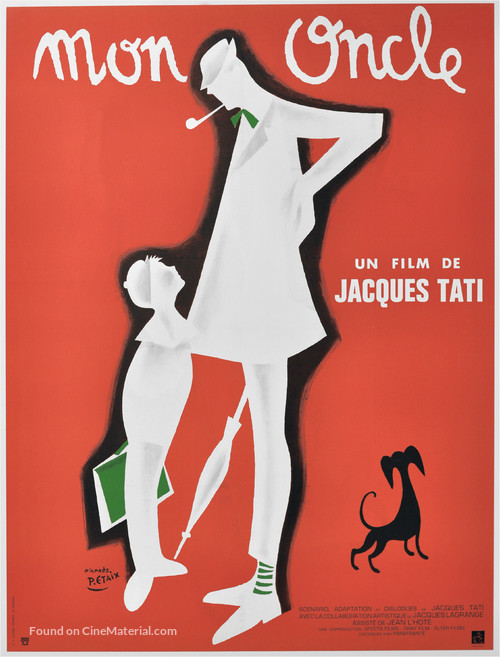 Mon oncle - French Movie Poster