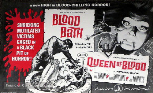 Blood Bath - Combo movie poster