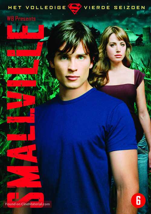 """Smallville"" - Belgian DVD movie cover"