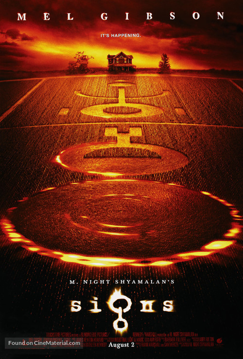 Signs - Movie Poster