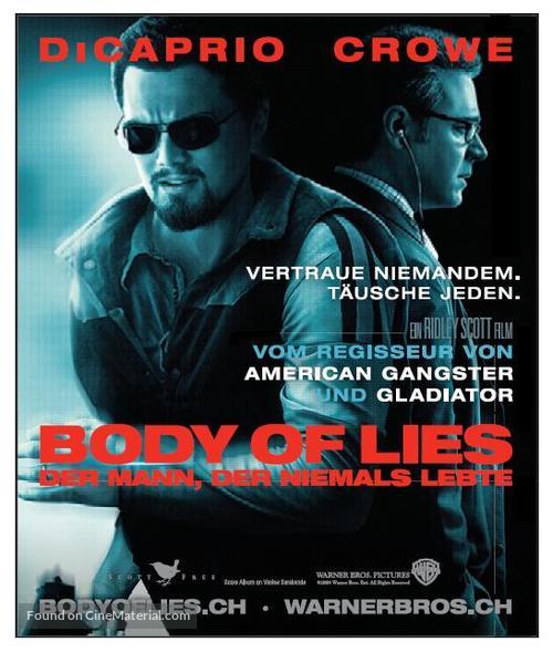Body of Lies - Swiss Movie Poster