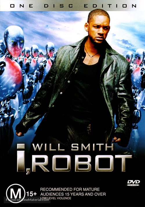 I, Robot - Australian Movie Cover