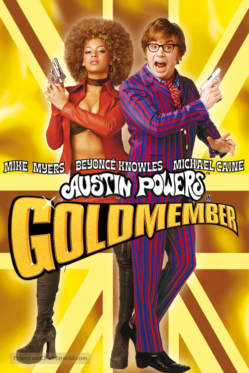 Austin Powers in Goldmember - DVD movie cover