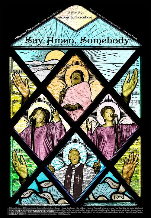 Say Amen, Somebody - Re-release movie poster