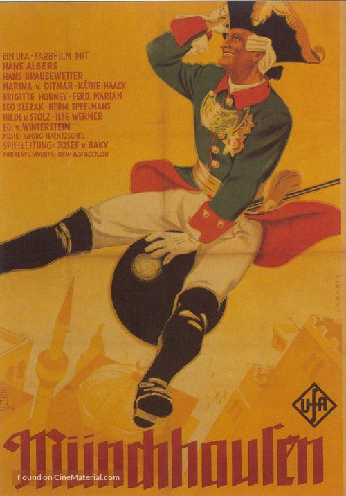 Münchhausen - German Movie Poster