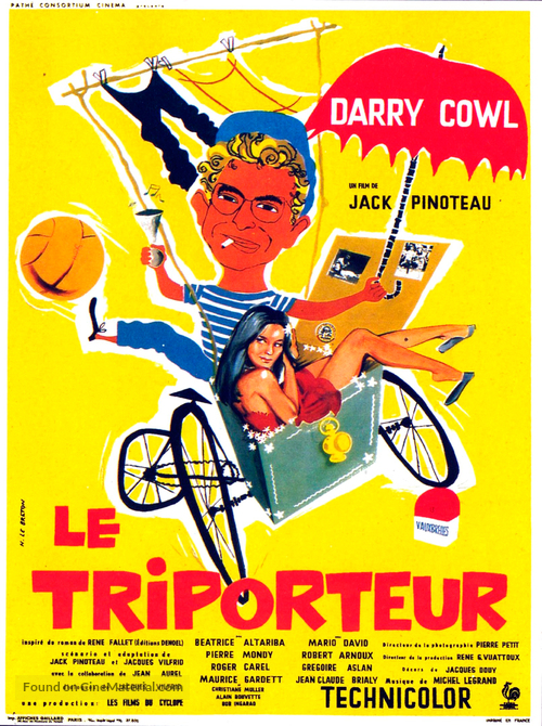 Le triporteur - French Movie Poster